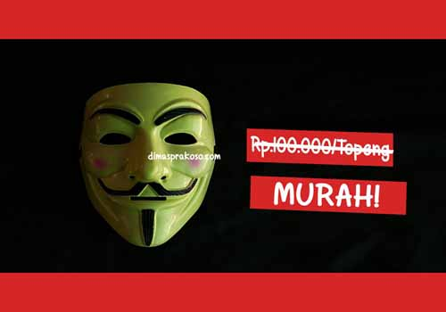 Jual topeng anonymous - URBEX People Indonesia