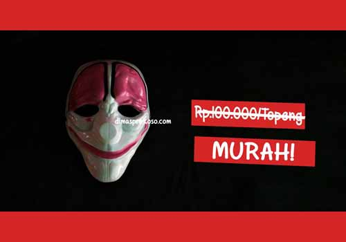 Jual topeng payday 3 - URBEX People Indonesia