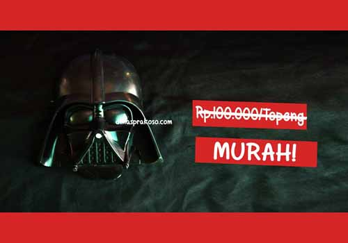 jual topeng darth vader - URBEX People Indonesia
