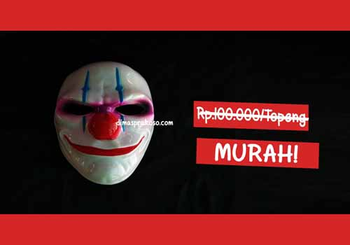 jual topeng payday 2 - URBEX People Indonesia
