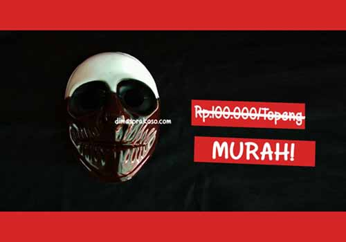 jual topeng payday - URBEX People Indonesia