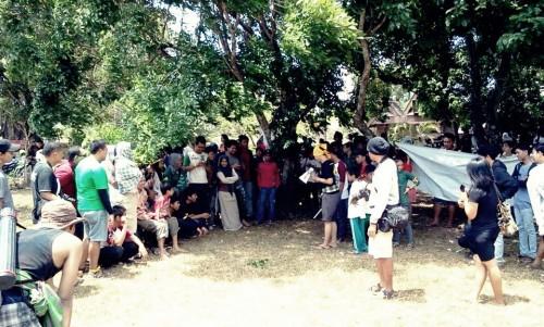 Sosialisasi perrmainan tradisional di Benteng Somba Opu