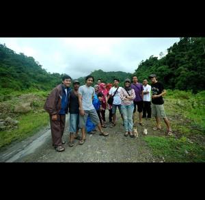 Menuju Dusun Tatibajo