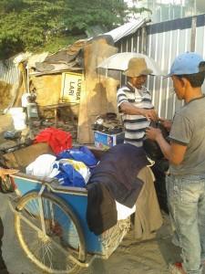 Penjual Cakar keliling
