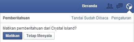 Block invite facebook