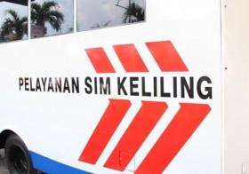 Lokasi sim keliling di Makassar