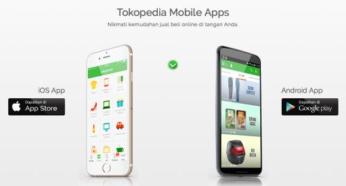 Tokopedia Mobile Apps