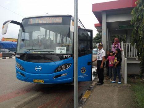 Rute BRT di Makassar