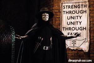 Sejarah Anonymous, Guy Fawkes, Vendetta