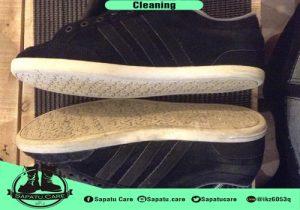 Jasa cuci sepatu makassar