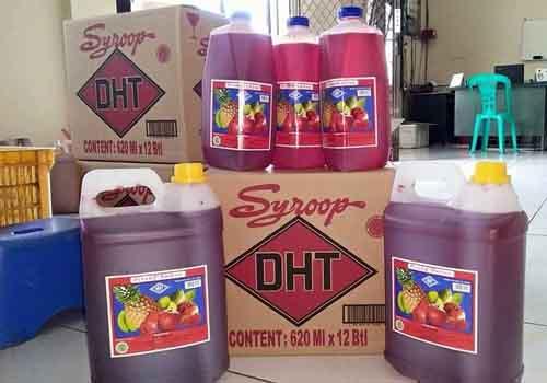 Oleh-oleh khas Makassar - Sirup DHT