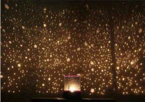 Hadiah pernikahan - Lampu tidur romantis