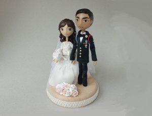 Hadiah pernikahan - miniatur pengantin