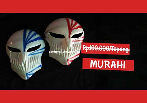 Jual topeng ichigo hollow - URBEX People Indonesia