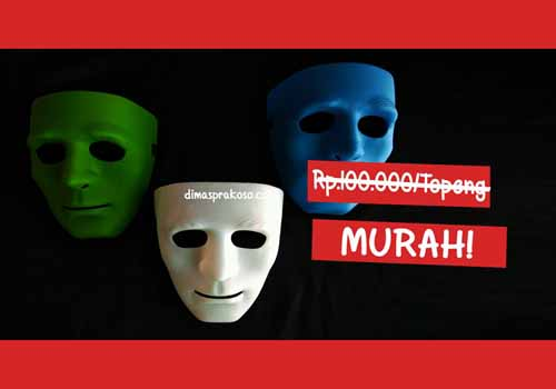 Jual topeng jabbawockeez 2 - URBEX People Indonesia