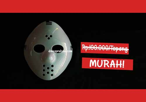 Jual topeng jason - URBEX People Indonesia