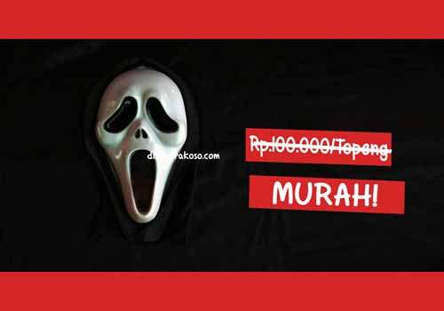 Jual topeng scream - URBEX People Indonesia