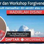 Belajar Memaafkan di Seminar dan Workshop Forgiveness Therapy