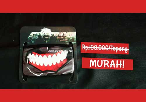 jual masker tokyo ghoul - URBEX People Indonesia