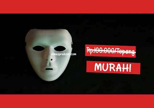 jual topeng jabbawockeez- URBEX People Indonesia