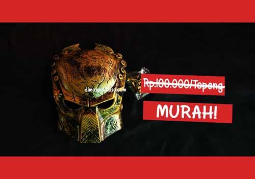 jual topeng predator - URBEX People Indonesia