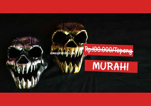 jual topeng skull - URBEX People Indonesia