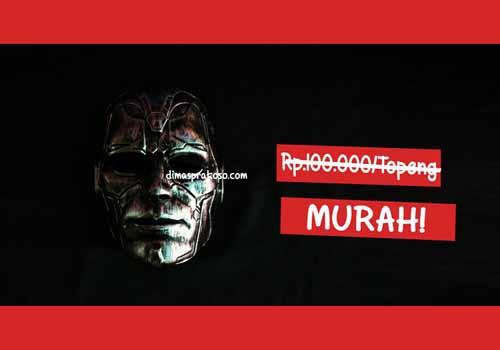 jual topeng the metallic - URBEX People Indonesia