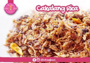 uthiesfood - Cakalang rica