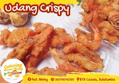 Catering di Bulukumba - Udang crispy