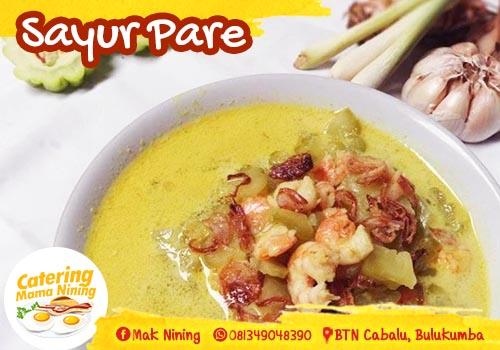 Catering di Bulukumba - sayur pare