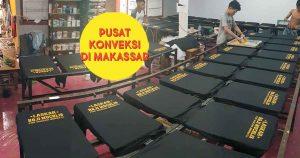 Jasa sablon konveksi di Makassar 5