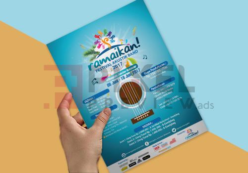 Jasa Desain Grafis Makassar - Jasa desain brosur makassar