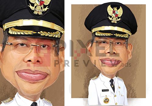 Jasa Desain Grafis Makassar - Jasa desain karikatur