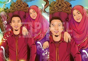 Jasa Desain Grafis Makassar - Jasa desain vexel