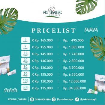Distributor as magic skincare Indonesia - Daftar Harga As Magic Skincare 2