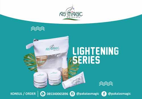 Distributor as magic skincare Indonesia - lightening series