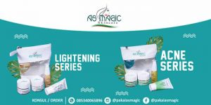 Headers Distributor as magic skincare Indonesia - Acne Series