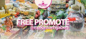 Free Promote Instagram @makassarhijabers