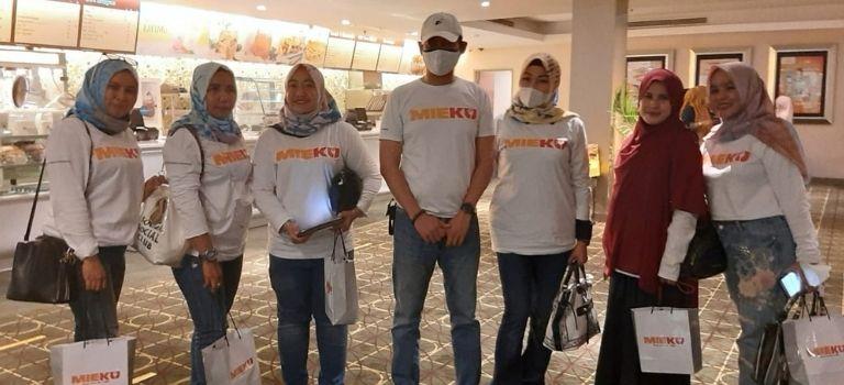 MIEKU Adakan Nonton Bareng Film Nasional dan Soft Launching di Makassar