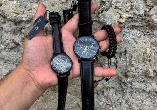 7 Pilihan Kado Pernikahan Shopee - jam tangan couple