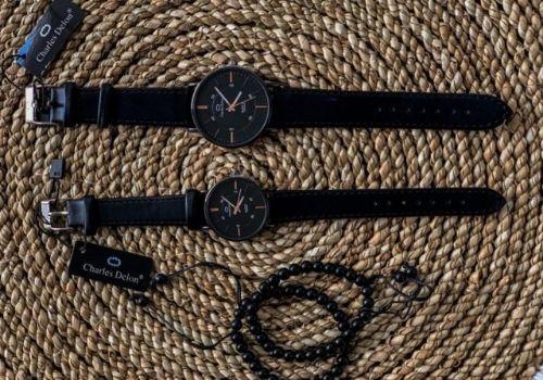 8 Pilihan Kado Pernikahan Shopee - jam tangan couple
